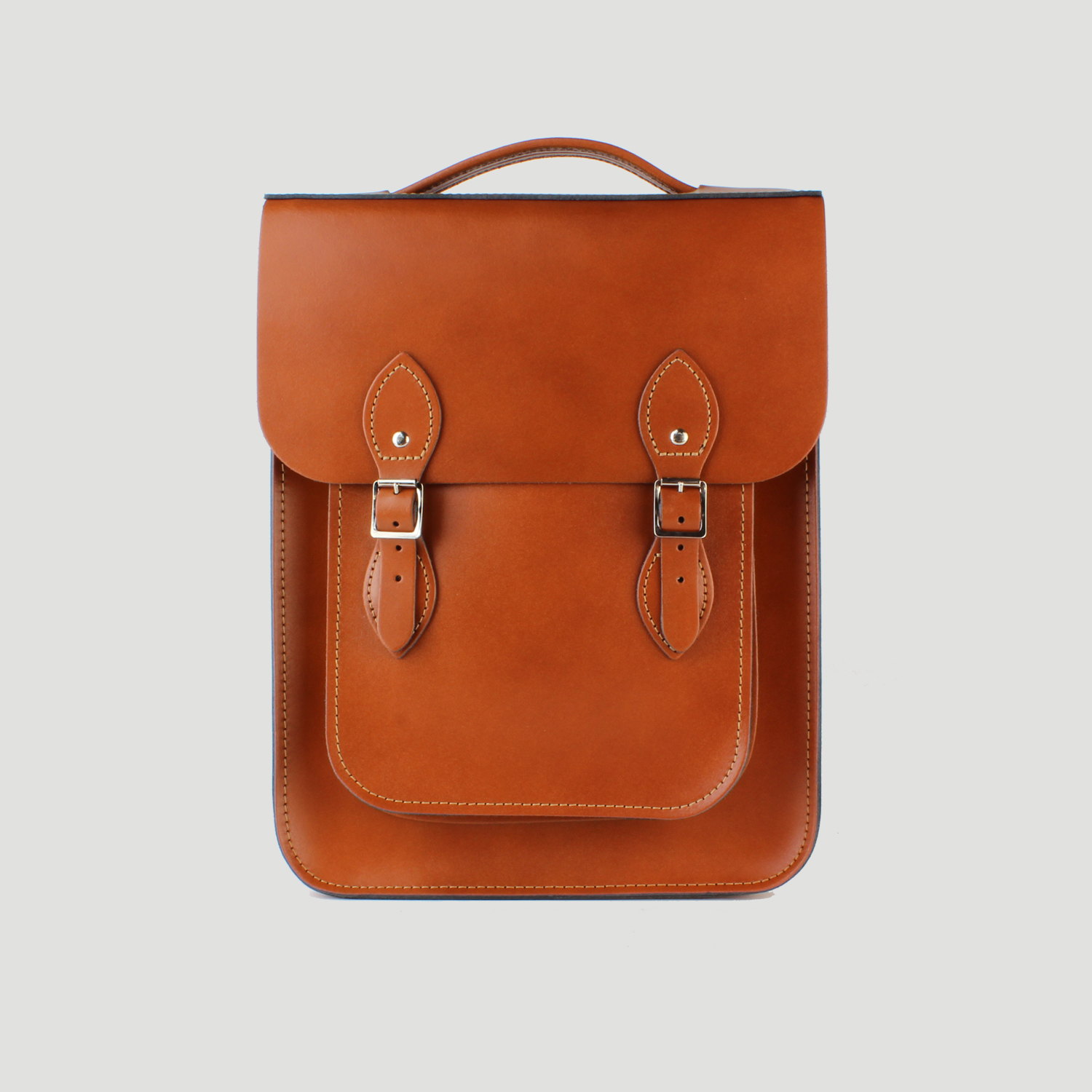 20e869c562 Portrait Leather Backpack made from London Tan Leather – Bowland Clothing  Limited